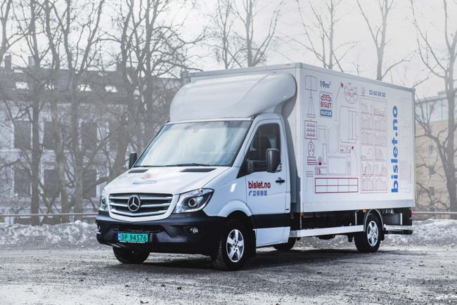 V3 - Skapvogn 19m3/ 3500kg/m lem